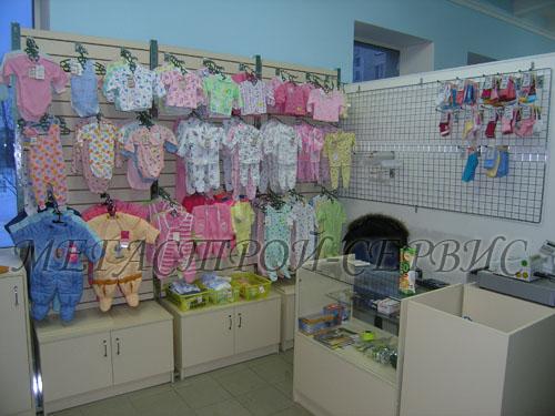 """МегаСтрой"""" : Торговое оборудование Магазин детской одежды GD110"""